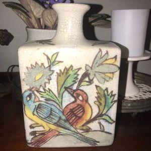 Pottery Barn bird vase